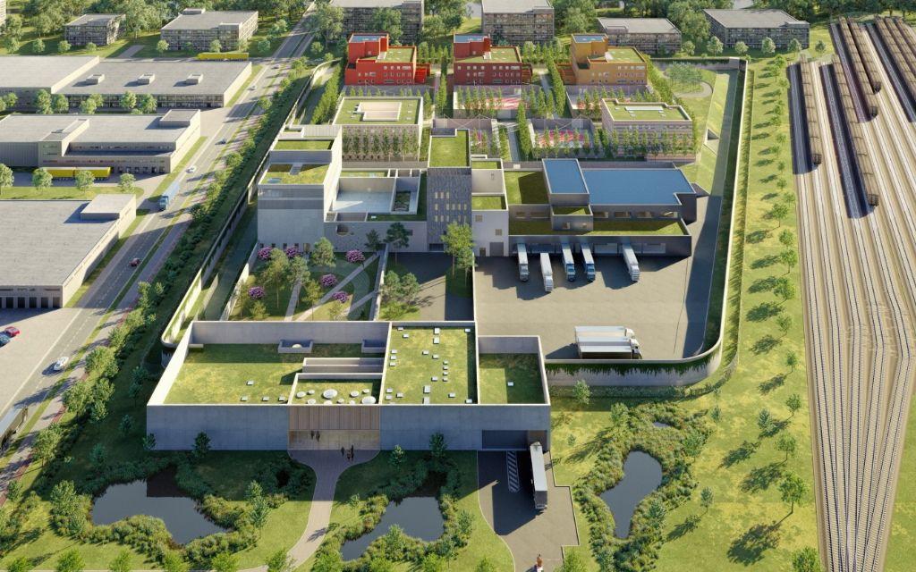 Hootsmans architectuurbureau, ARCH & TECO, Bureau Bas Smets en Ingenium mogen nieuwe gevangenis in Antwerpen ontwerpen