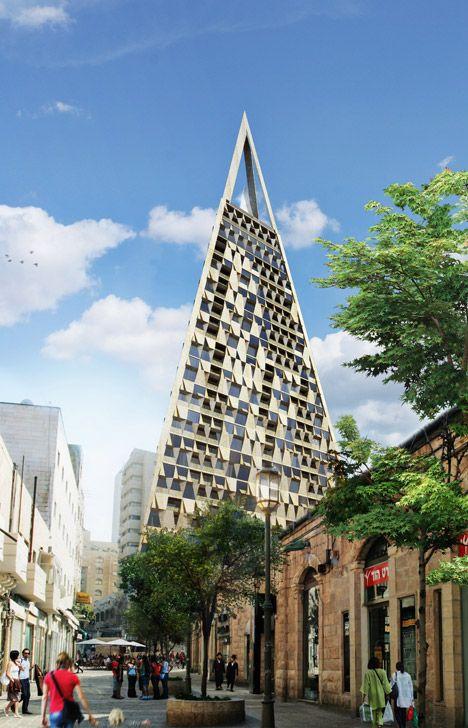 Het bouwwerk is ontworpen in samenwerking met lokale architect Yigal Levi en zal 200 luxeappartementen en een boetiekhotel bevatten, alsook een dakrestaurant met observatorium dat adembenemende zichten belooft.