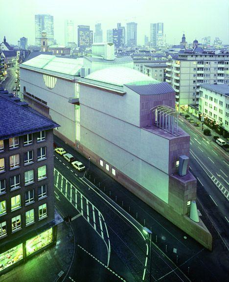 Het Museum für Moderne Kunst in Frankfurt.