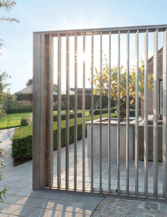 Houten shutters houden overtollige warmte buiten en creëren intimiteit