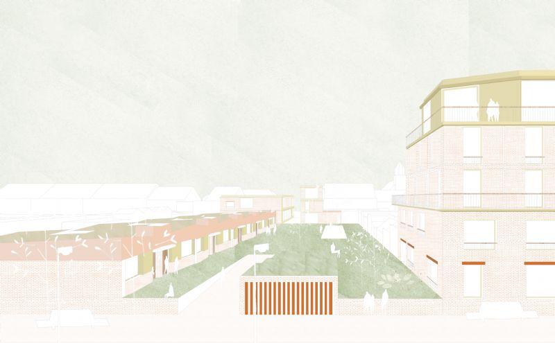 Net Niet: Dienstencentrum en woningen Veldegem/ OCMW Zedelgem (BULK architecten)