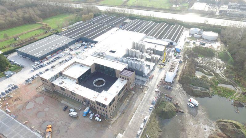 Nieuwe energiezuinige Brouwerij Van Honsebrouck met BIM