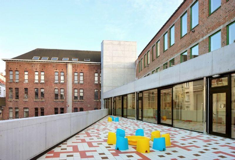 In 2012 werd het project uitgekozen als voorbeeldgebouw door het Brussels Instituut voor Milieubeheer.