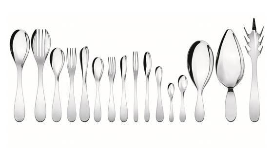 De Nederlandse architect Wiel Arets heeft met Eat.it zijn eerste bestek voor Alessi ontworpen.