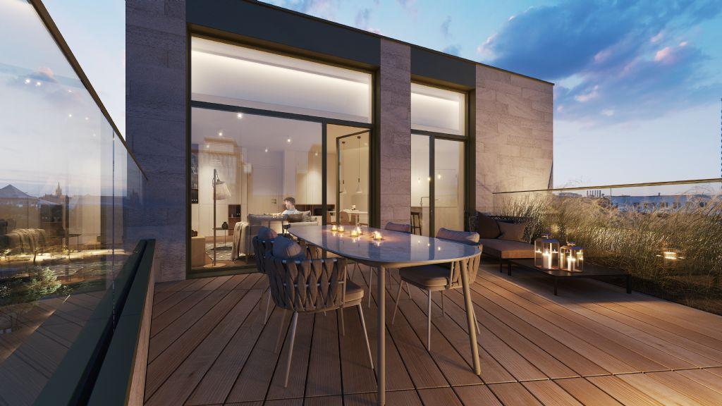 RIVA zal 139 wooneenheden tellen, gaande van studio's tot appartementen met drie slaapkamers en luxueuze penthouses.