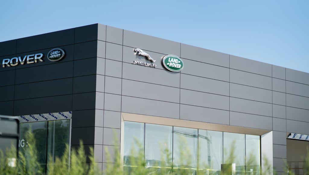Droogbouw was de ideale oplossing voor nieuw pand Landrover-Jaguar Dendermonde