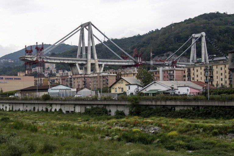 Bouw van nieuwe brug in Genua officieel gestart