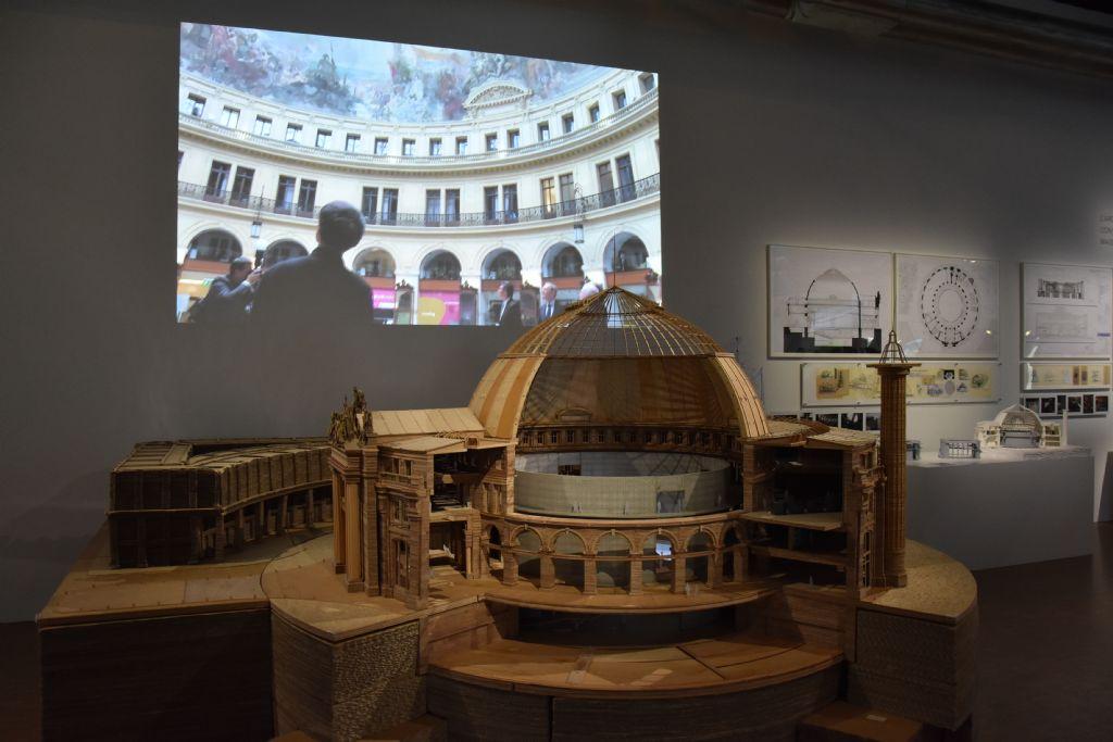 Verbouwing handelsbeurs in Parijs voor collectie Pinault. Opening najaar 2019.