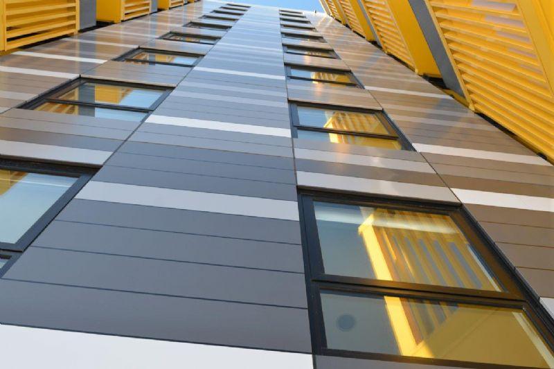 De bouw van de New Lynn Merchant Appartments past in een groots reconversieproject van New Lynn, een voorstad van Auckland.