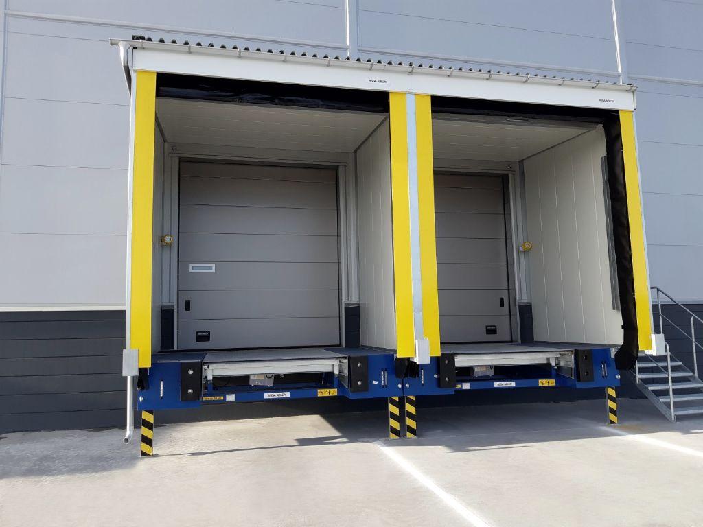 Nouveau tunnel de chargement isolé unique pour ASSA ABLOY Entrance Systems