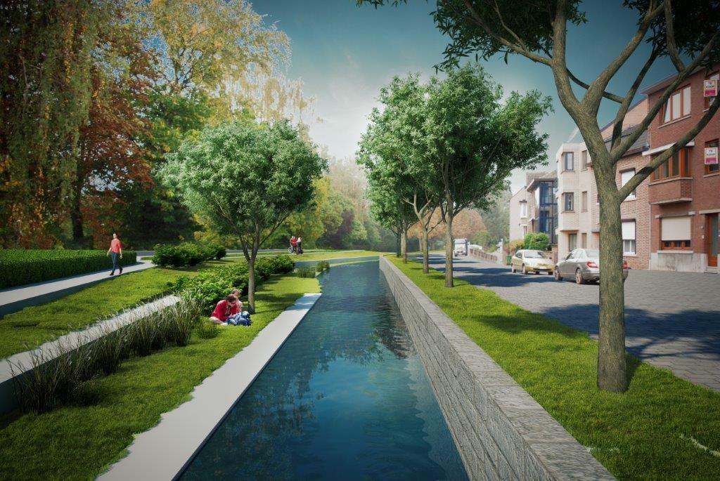 Fraai stadspark geeft downtown Tongeren nieuw elan