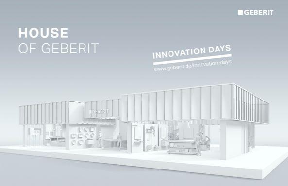 Geberit lance ses Journées de l'Innovation à distance