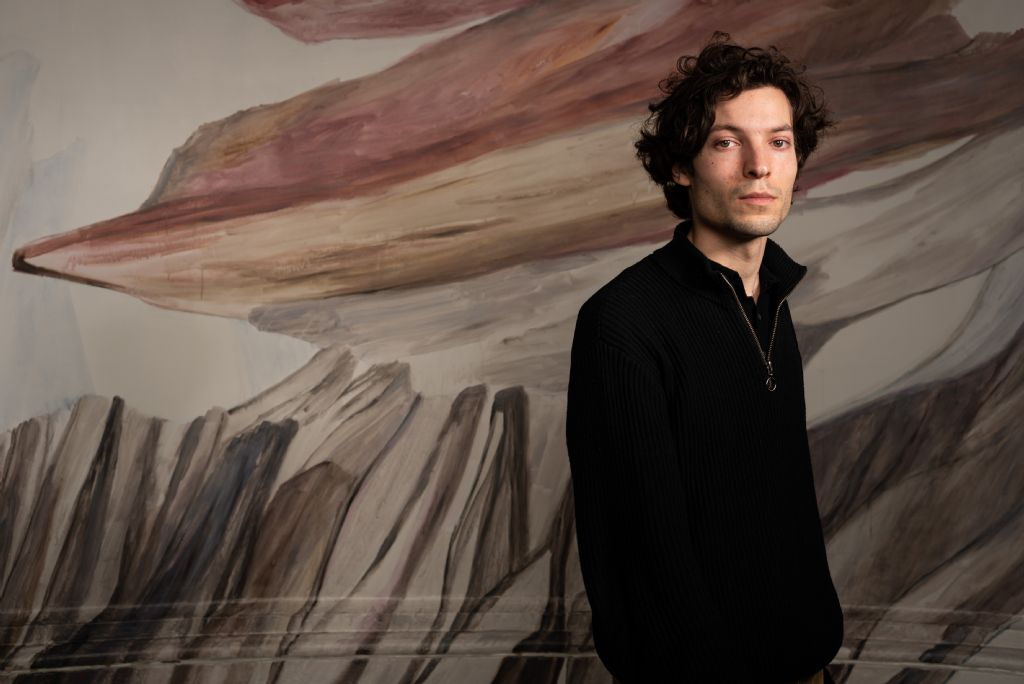 Curator Pieterjan Maes.