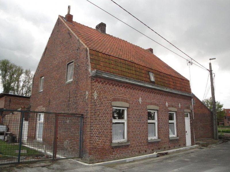 Het huisje in zijn oorspronkelijke staat
