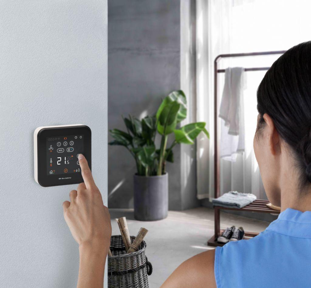 Slimme kamerthermostaat zorgt voor duurzaam comfort