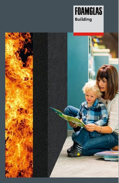 FOAMGLAS® blijft investeren in brandveiligheid