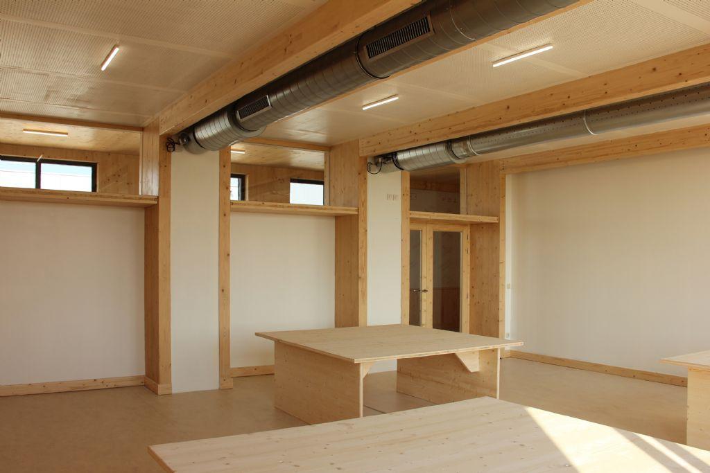 Un concept modulaire en bois pour soulager les écoles... enfin !