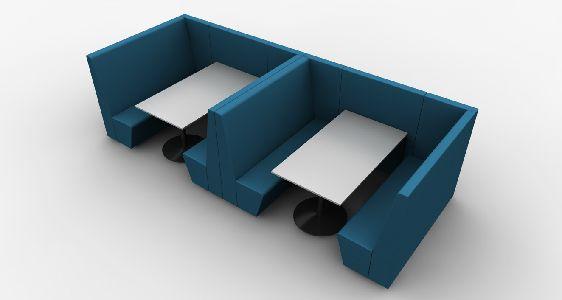 U-Ply de Drisag : pour de petits salons modulables