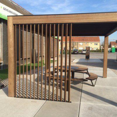 Carpentier lanceert 100 % houten terrasoverkapping Livinshades