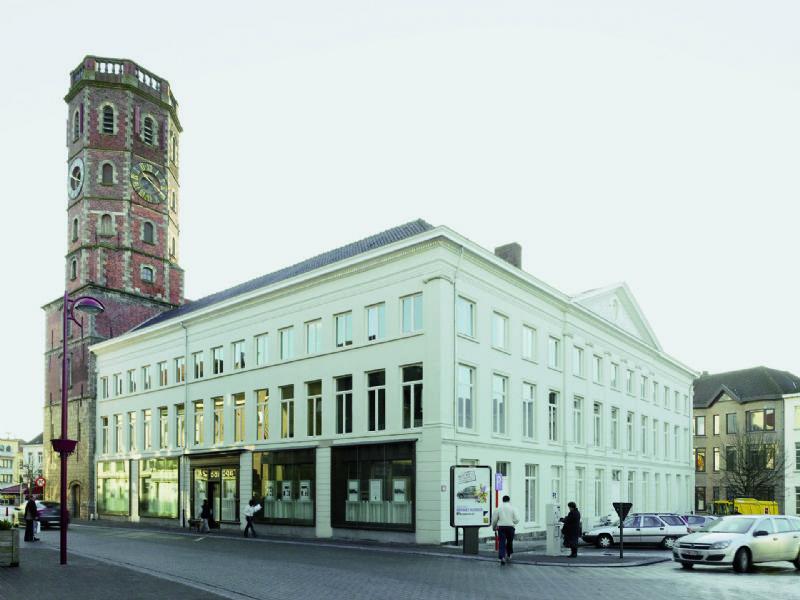 Het Stadhuis van Menen door noAarchitecten.