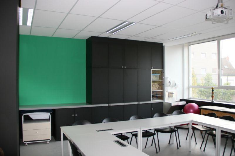 Heringericht klaslokaal