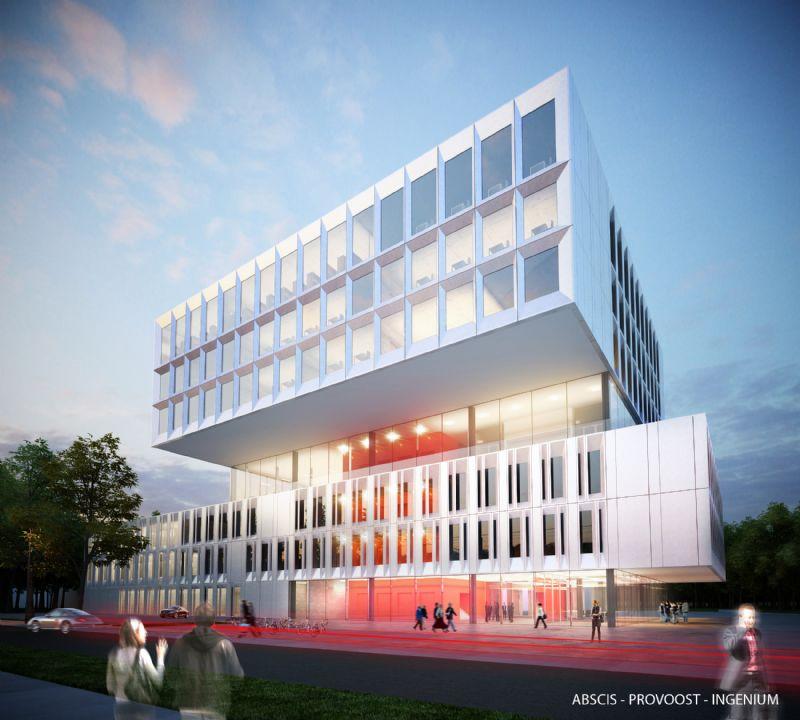 Ook eens 3D kijken in het BIM-model Open Wervendag KUL Campus Brugge?