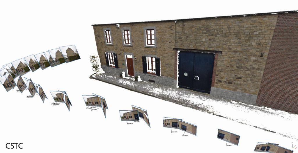 Info technique : La photogrammétrie pour diagnostiquer et mesurer les façades anciennes