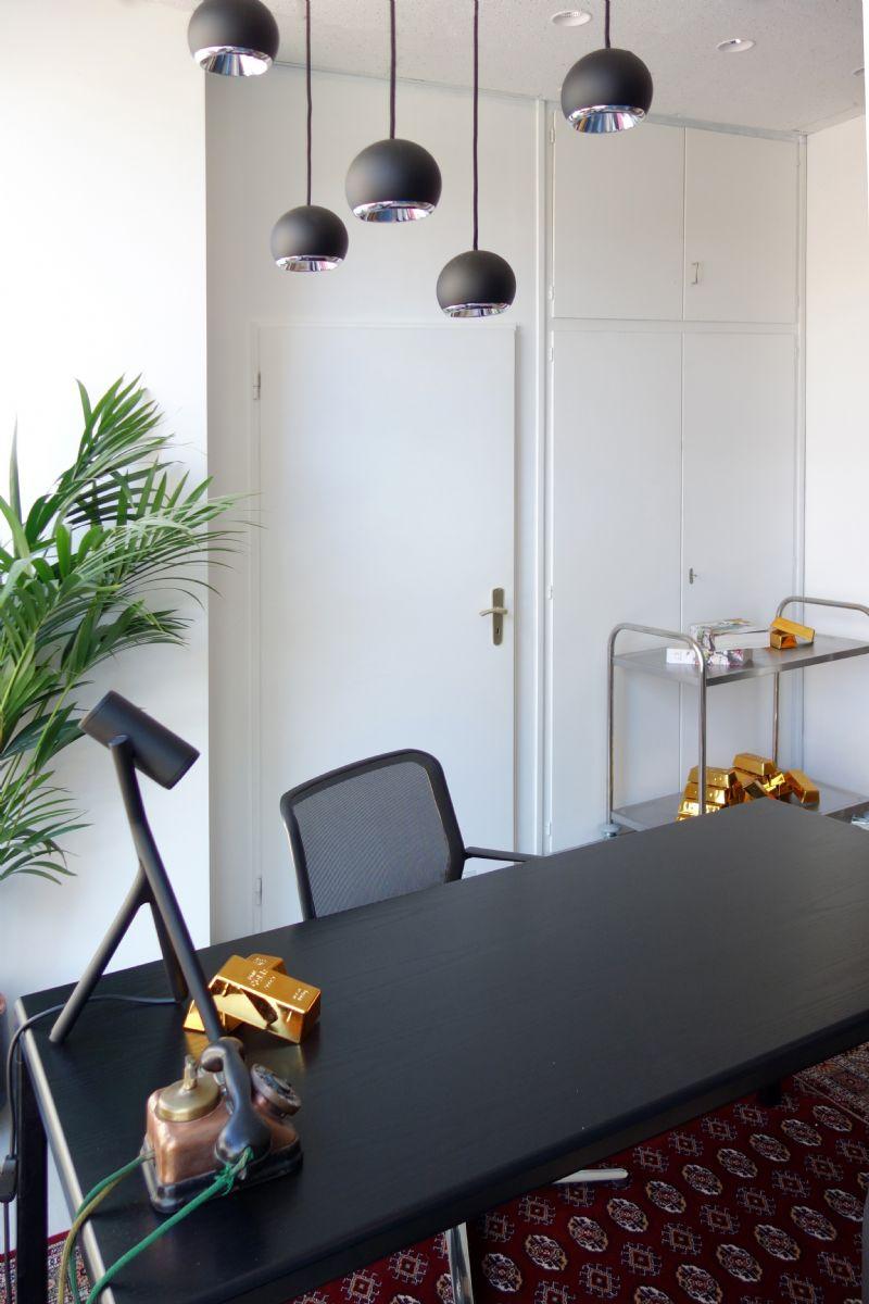 De kluiskamer en de showroom zijn bedoeld als open platform voor architecten.