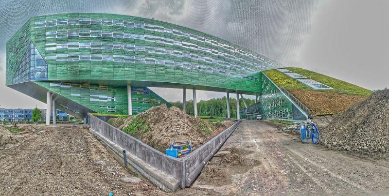 Universiteit van Groningen kreeg groendak van Zinco