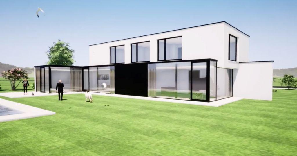 Na een Archicad-opleiding van vier dagen tekende Paul Gijsemans van GDesign Architecten meteen al dit model in het programma.
