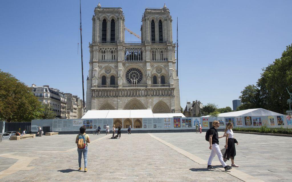 Bureau Bas Smets in de running voor herinrichten omgeving Notre Dame in Parijs