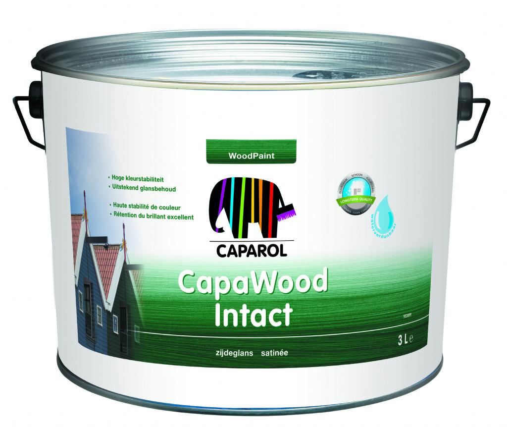 Capawood Intact : la nouvelle peinture pour bois de Caparol