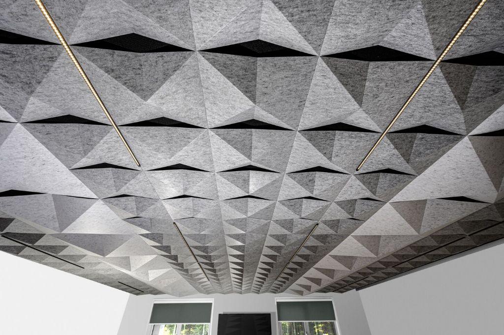 Hunter Douglas Architectural lanceert nieuw vilten plafondsysteem