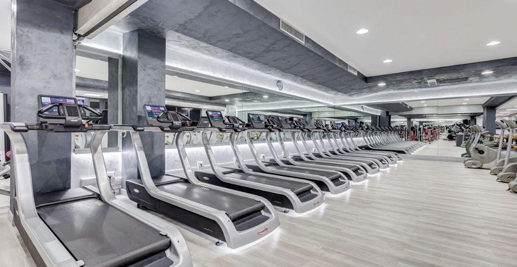 Seven Sporting Club Rome gerenoveerd met COREtec® vloeren van USFloors