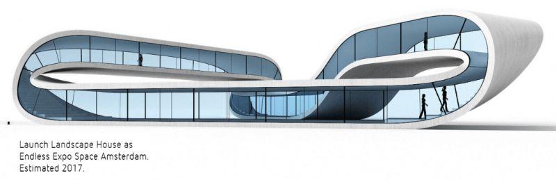 Een ander voorbeeld is Janjaap Ruijssenaars van Universe Architecture (NL) met Landscape House.