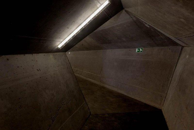 Steven Massart won de publieksprijs met zijn foto van C-Mine Expeditie in Genk (NU Architectuuratelier).