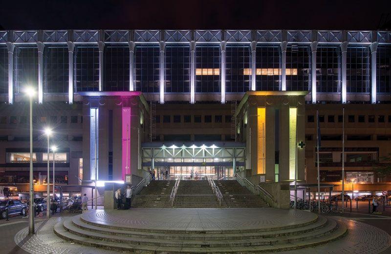 Schréder met la Gare du Nord en lumière pour créer l'ambiance et renforcer l'identité