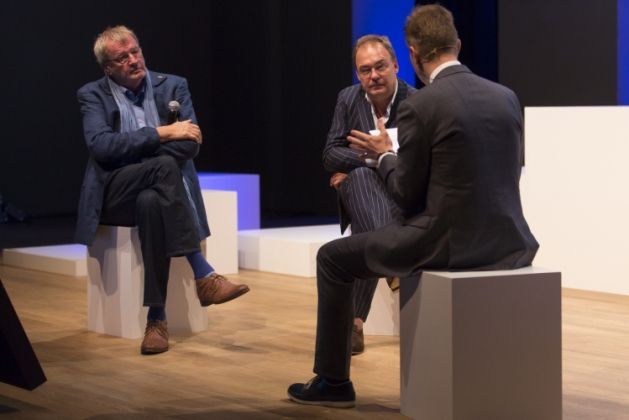 bOb Van Reeth en Christian Rapp stonden stil bij het verleden en de toekomst van het Vlaams Bouwmeesterschap.