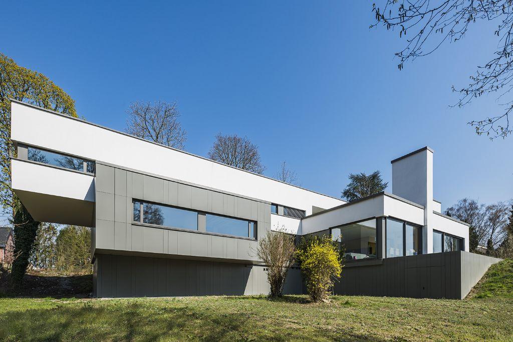 Un bardage de façade sur une maison passive unique en son genre