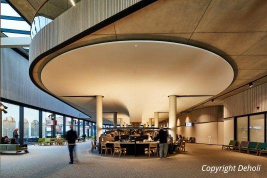 Aangenaam akoestisch klimaat in nieuwe stadhuis Hasselt