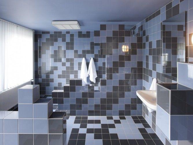 Een badkamer kan zowel praktisch als origineel zijn.