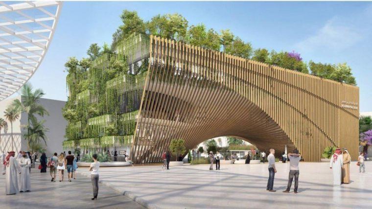 Belgisch paviljoen op wereldexpo Dubai ontworpen door Assar Architects en Vincent Callebaut