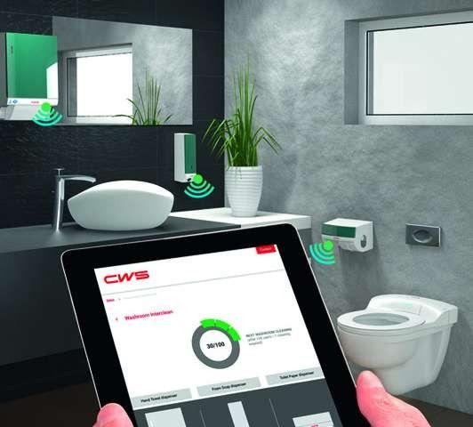Washroom Information Service beheert dispensers