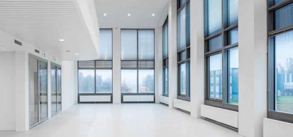 33.000 m² aan gipsplaten in Nederlands ruimtevaartcentrum