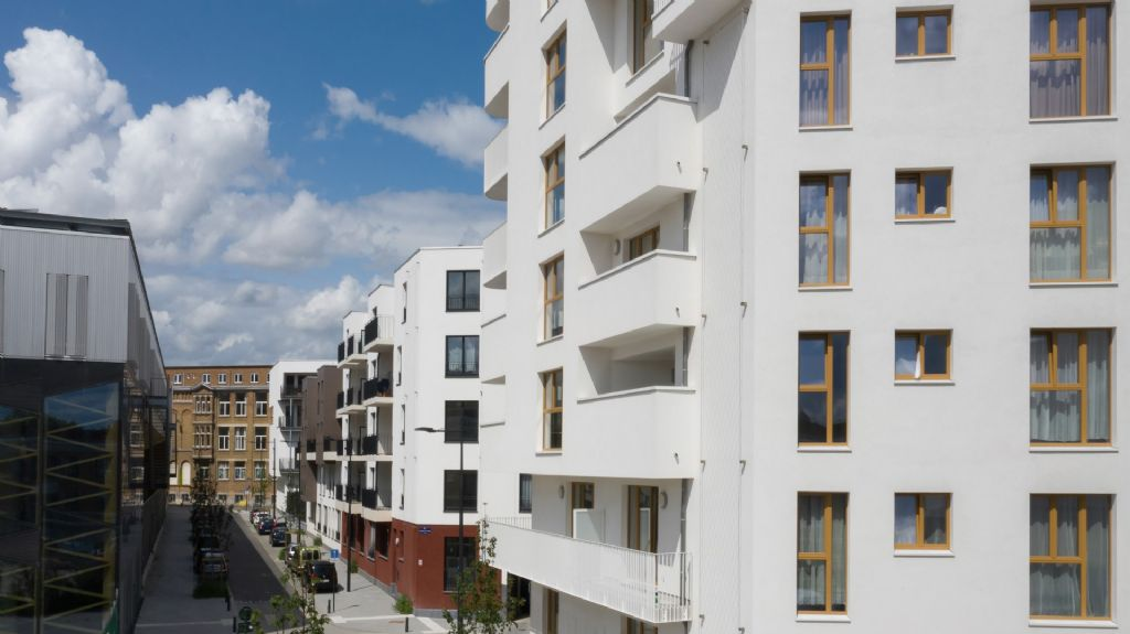 L'écoquartier Tivoli Green City (Laeken), lauréat de deux nouveaux prix en 2019.