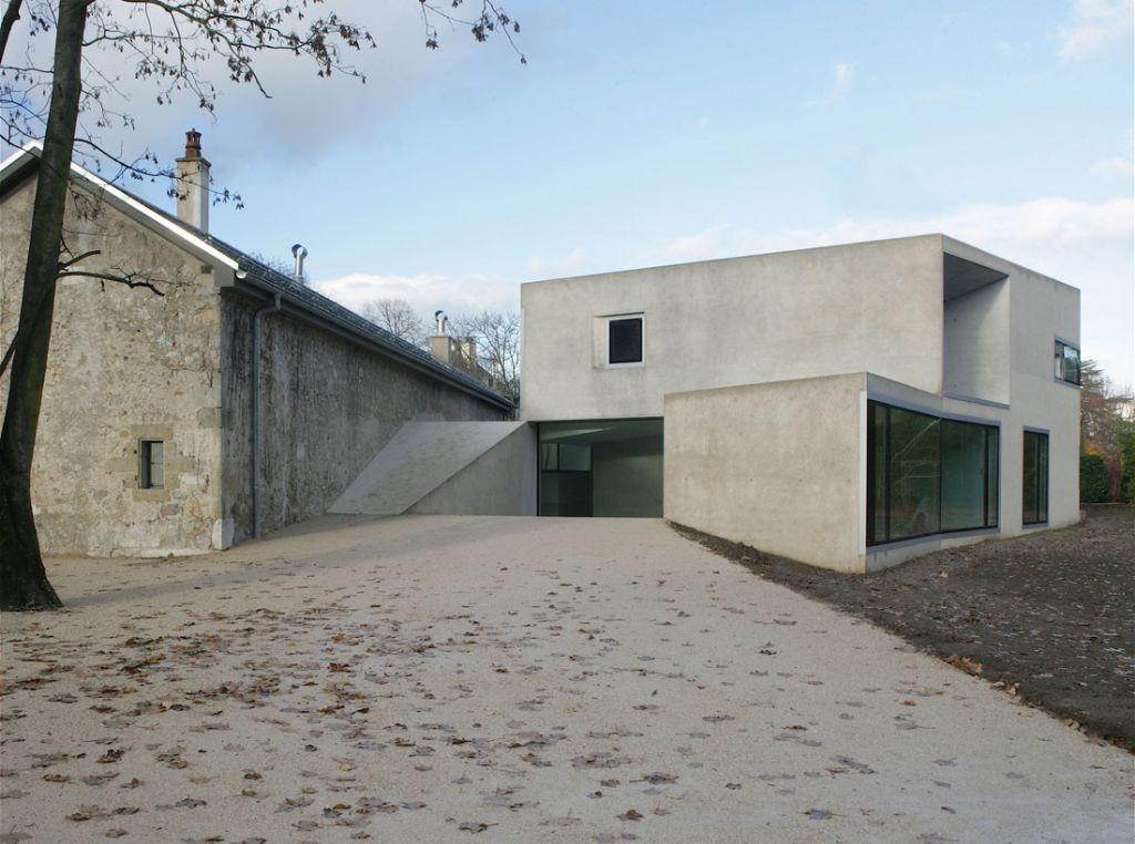 Maison à Frontenex (Suisse) par Charles Pictet architecte