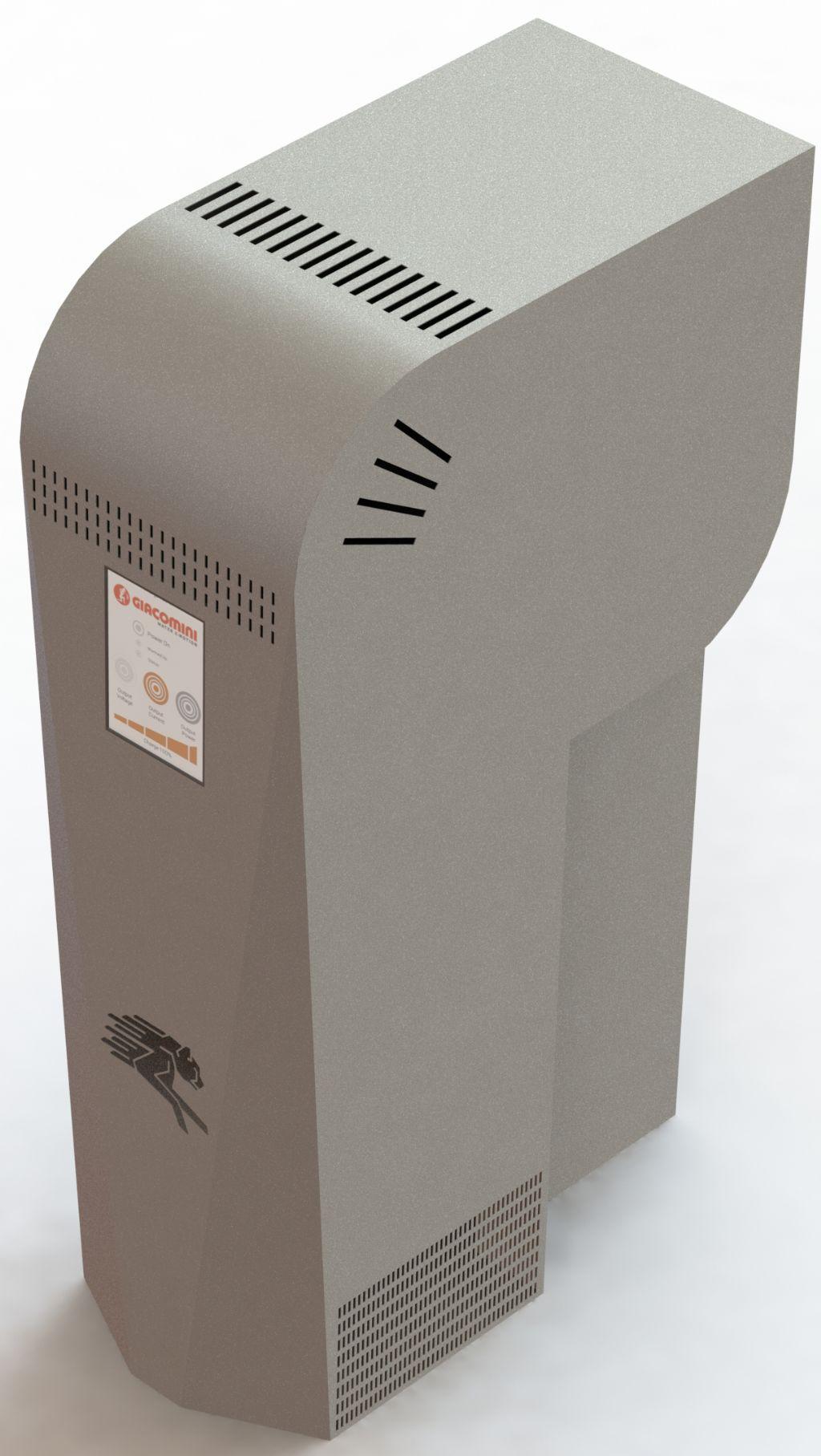 De Powerbox is een omkeerbare fuel cell die zonne-energie omzet naar waterstof in gasvorm.