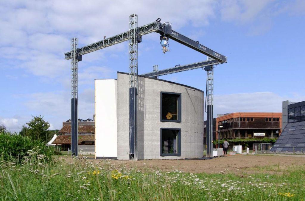 Wereldprimeur in Kamp C: een 3D-geprinte woning in beton