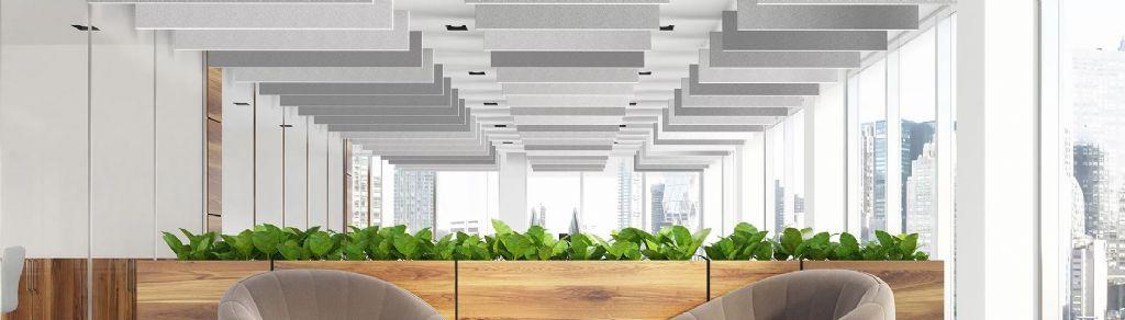 Plafondoplossingen bieden architecten en aannemers creativiteit bij gebouwontwerp