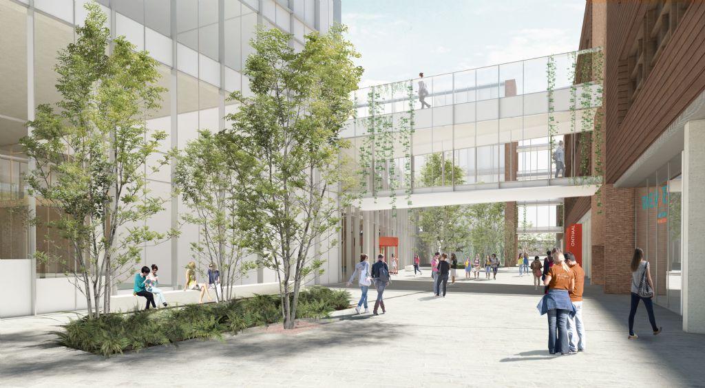 Mechelse Thomas More-campus De Vest verdubbelt capaciteit met nieuw gebouw